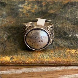 Silpada New Inspirational Ring